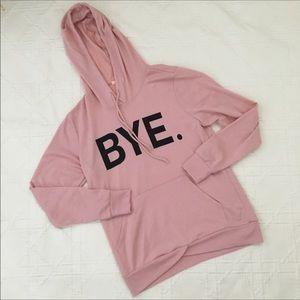 Rebellious One BYE hoodie